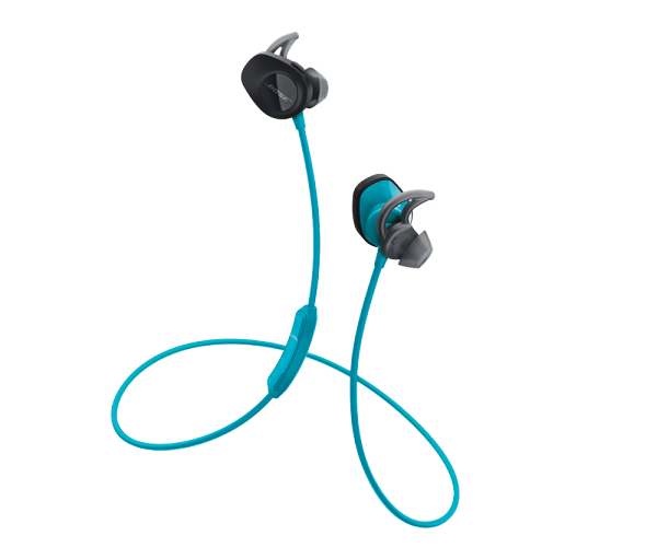 SoundSport® wireless headphones in Blue front view